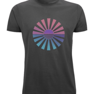 easter sun organic t-shirt